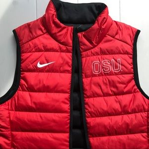 Nike Jackets & Coats - {Nike} - Ohio State Puffer Vest
